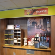 Restaurant & shop